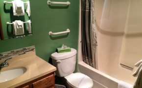 Griz Inn Fernie – 1-Bedroom Apartment – Unit 103-Bathroom