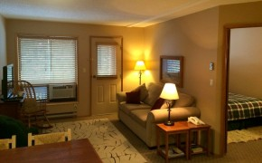 Griz Inn Fernie – 1-Bedroom Apartment – Unit 209-Living-Room-1
