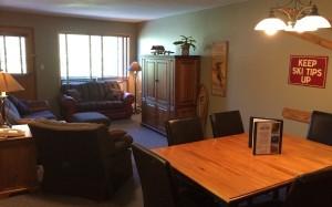 Griz Inn Fernie – 2-Bedroom Apartment – Unit 210-LivingArea