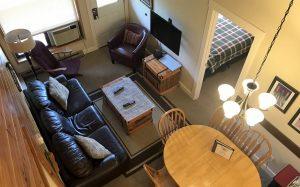 Griz Inn Fernie – 2-Bedroom Loft Apartment – Unit 311-LivingRoom-3