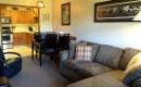 Griz Inn Fernie – 1-Bedroom Loft – Unit 312 Living Room