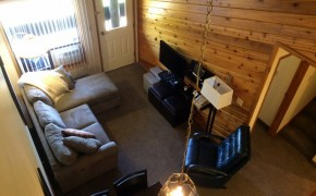 Griz Inn Fernie – 1-Bedroom Loft – Unit 312 Living Room