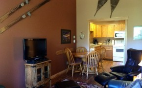 Griz Inn Fernie – 1-Bedroom Loft – Unit 313-Living Room