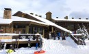 Griz Inn Exterior Patio Winter